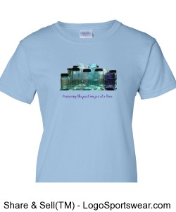 LADIES- Preserving the past in light blue Design Zoom