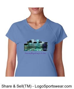 LADIES V-Neck Preserving the past Design Zoom